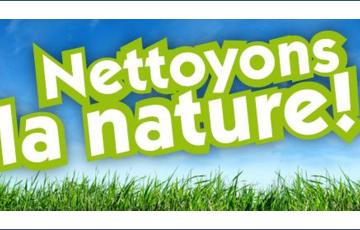 Opération « Nettoyons la Nature » Protégeons et préservons l'Environnement