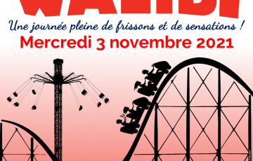 WALIBI : UNE JOURNEE PLEINE DE FRISSONS ET DE SENSATIONS