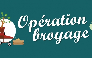 Opération broyage