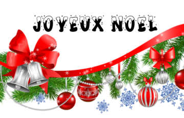 Distribution des colis de Noël