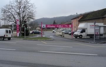 Parking de covoiturage