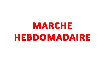 MARCHE HEBDOMADAIRE