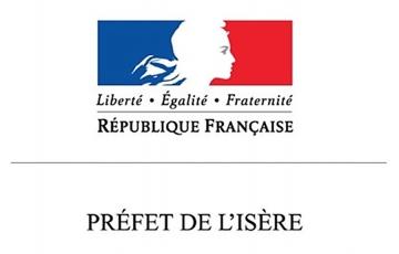 Communes du département de l'Isère reconnues sinistrées au titre des calamités agricoles pour les dommages causés par la sécheresse 2018