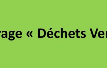 """Broyage """"Déchets Verts"""""""
