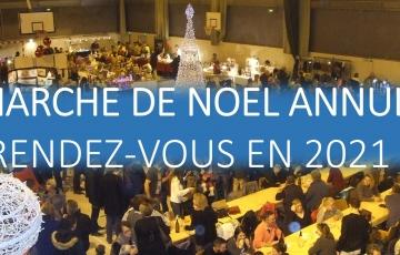 ANNULATION - Marché de Noel 2020