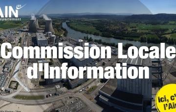 RÉUNION PUBLIQUE DE LA COMMISSION LOCALE D'INFORMATION DU BUGEY