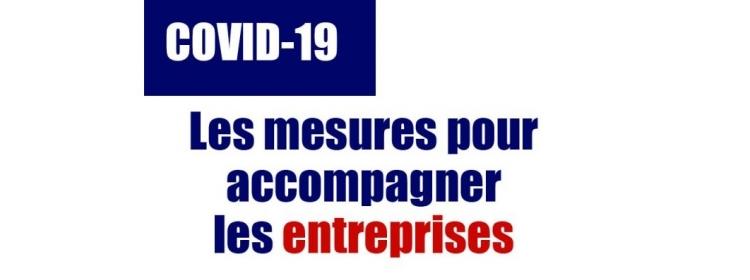 Vous êtes une entreprise et votre activité est impactée par la COVID-19