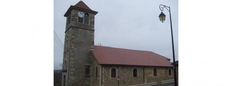 L'église de Demptézieu